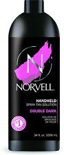 Norvell Double Dark Sunless Spray Tan Solution, 33.8 oz Liter