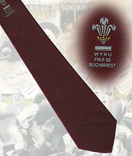 Welsh Youth - Fira 95 Tournament, players tie Rugby Tie