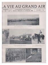 LA VIE AU GRAND AIR N°  30 08/04/1899 MENTON OXFORD -CAMBRIDGE FOOT AERO-CLUB