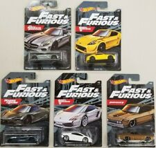 2020 fast and furious Walmart Set of 5 /  AMG 720S  Torino 370Z 1:64 Hot wheels