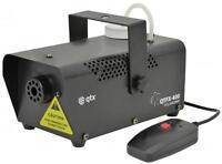 QTX 160.461 QTFX-400 Disco Fog Smoke Mist Disco Machine IEC Remote Control Black