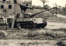 WW2 Photo German King Tiger Tank  France 44 WWII World War Two Pzkpfw. VI Panzer