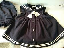 SOPHIE ROSE 6-9 Months Sailor Dress..no flaws, great condition