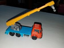 JOY TOY GREEK VINTAGE  No 33 BEDFORD CRANE TRUCK MADE IN GREECE TOW GREECE MADE