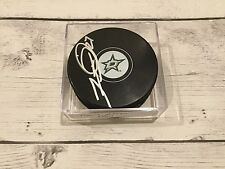 Travis Moen Autographed Dallas Stars Hockey Puck Signed a