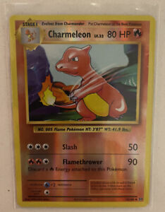 Pokemon Charmeleon 10/108 Uncommon Reverse Holo Card XY Evolutions Set 2016 NM