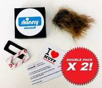 OFFICIAL MICROMUFF SKINNY X 2 mic windshield. Direct from manufacturer - UK