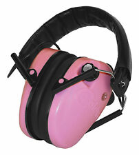 New! Authentic Caldwell EMAX Low Profile Electronic Ear Muffs Model: 487111 Pink