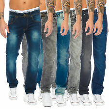 Rock Creek Designer Herren Jeans Hose Denim Stretch Jeanshose Regular Fit NEU M1
