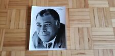 "Autographed ""Star Wars"" James Earl Jones  original vintage promo press photo"