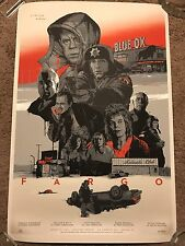Fargo Movie Print Poster Mondo Grzegorz Domaradzki Gabz Steve Buscemi Coen Bros