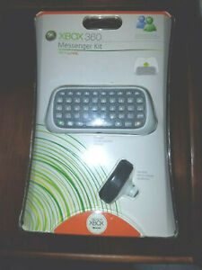 Brand New and Sealed Xbox 360 Live Messenger Kit Keyboard by Microsoft