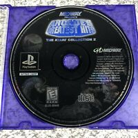 Midway Arcades Greatest Hits Atari Collection 2 (PlayStation PS1) - Loose Disc
