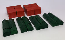 Monopoly Deluxe Edition 1998 Wooden Houses x 32 And Hotels x 12
