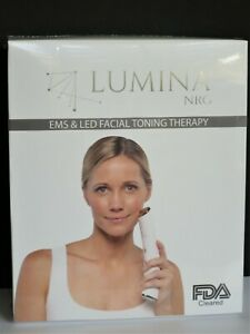 New Anti Aging Home Device ~ Lumina NRG ~ EMS & LED Facial Toning Therapy