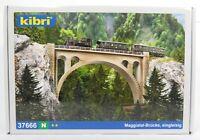 BNIB N GAUGE KIBRI 37666 RAIL OVER VALLEY BRIDGE KIT - VIADUCT