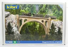 BNIB N GAUGE KIBRI 37666 RAIL OVER VALLEY BRIDGE KIT - VIADUCT