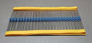 25/100PCS 510K 0.25W 1% Metal Film Resistor 1/4W MF