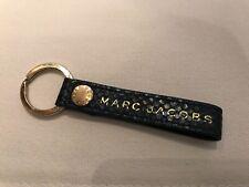 Marc Jacobs Keychain Dark Blue Leather dans Snakeskin Optic