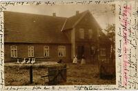 AK Bassum, Lks. Diepholz, Landhausansicht, Fotokarte, 1911, 13/02