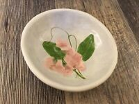 Salt Marsh Pottery Everlasting Pea Sweet Pea Small Bowl Dish Pink S Dartmouth Ma