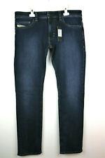 Diesel Indigo Thavar Slim Skinny Stretch Jeans Size W34 L32 RRP £120