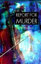 Report for Murder-ExLibrary