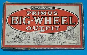 Primus Engineering Big Wheel Outfit. Circa 1918, early 1920s.