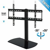 "Universal TV Stand with Swivel Mount Pedestal Base for 32-60"" Sony Samsung TCL"