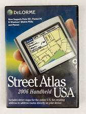 DeLorme Mapping Street Atlas USA 2006 for Handheld PDA (AO-007513-101)