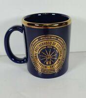 Blue International Brotherhood of Electrical Workers Coffee Mug Cup Made in US