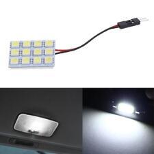 1pc 12V 5050 12SMD LED White Light Car Interior T10 Festoon BA9s Dome Lamp Panel