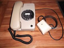 SIMENS  Telefon mit Wählscheibe Post Telefon Grau Tischtelefon VINTAGE alt