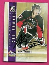CHL COUGARS  ALEX FORSBERG  AUTOGRAPH CARD (INV# C2858)