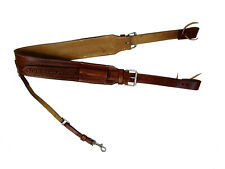 SNAKE WORM TOOLED LEATHER WESTERN HORSE REAR CINCH FLANK MATCHING BILLETS STRAPS