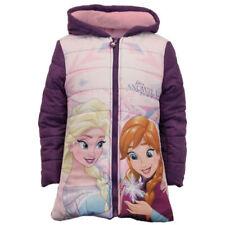 Vêtements violets Disney à manches longues pour fille de 2 à 16 ans