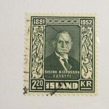 Iceland Scott #275 Θ used, mute cancel 2.50 Kr fine + 102 card, superfleas