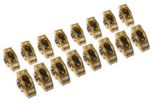 COMP CAMS ULTRA GOLD ALUMINUM ROLLER ROCKER ARMS SBC CHEVY V8 1.6 RATIO 3/8 STUD