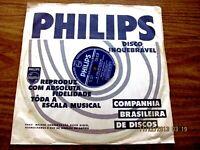 BILLY ECKSTINE FELICIDADE 1959 VINYL 78 RPM BRAZIL BOSSA NOVA JOBIM JAZZ SOUL