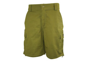 NEW Flexifoil Premium Quality Comfortable Smart Casual Shorts - Green - 34""