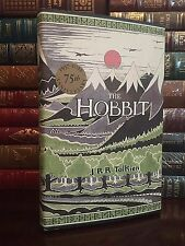 The Hobbit by JRR Tolkien 75th Anniversary New Deluxe Hardcover Edition LoTR