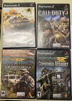 Sony Playstation 2 Game Lot of 4 Various PS2 Games: 3 Complete w/ Manuals !