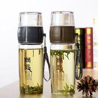 Portable Tasse à Thé  Filtre Indépendant Chine Buvant Bouteille D'eau Verres 水壶