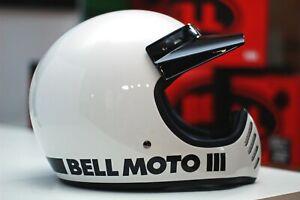 Bell Moto-3 (Classic White)