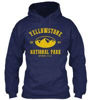 Custom-made Yellowstone National Park - Est 1872 Gildan Gildan Hoodie Sweatshirt