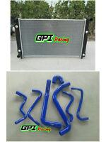 RADIATOR HOLDEN COMMODORE VT (SERIES 1 & 2)  VX V6 AT/MT 2 Oil Cooler +bl HOSE