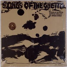 SONGS OF GHETTO: Holocaust Jewish Yiddish Sarah Gorby SEALED '66 Phillips LP
