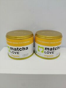 MATCHA LOVE ORGANIC - STONE GROUND TEA POWDER 0.7 OZ Made in Japan New No1 06/20