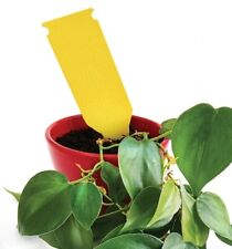Sticky Glue Yellow INSECT Pest Killer TRAP Flower Protection Flycatcher 5Pcs