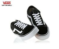 VANS OLD SKOOL Black Canvas Skate Street Style Fashion Sneakers,Shoes Men's